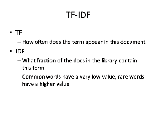 term frequency inverse document frequency pdf
